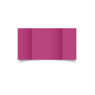 Large Square Gatefold Raspberry Pink Card Blanks