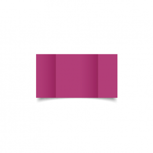 Small Square Gatefold Raspberry Pink Card Blanks