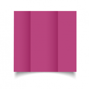DL Gatefold Raspberry Pink Card Blanks