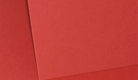 Red Plain Card 290gsm