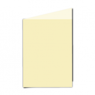 "5"" x 7"" Rich Cream Hammered Card Blanks"