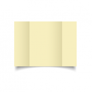 A5 Gatefold Rich Cream Hemp Card Blanks
