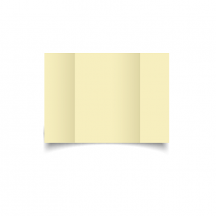 A6 Gatefold Rich Cream Hemp Card Blanks