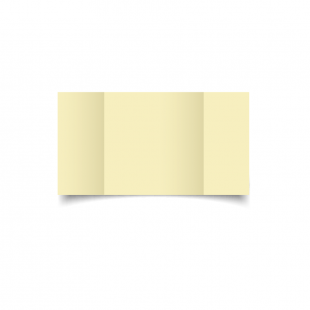 Large Square Gatefold Rich Cream Linen Card Blanks