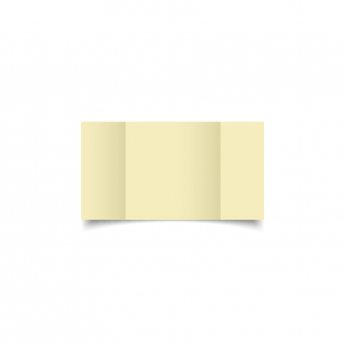 Small Square Gatefold Rich Cream Hemp Card Blanks