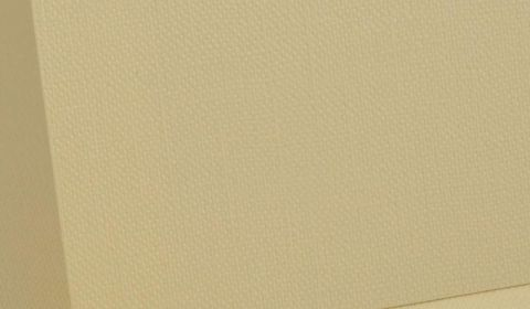 Rich Cream Hopsack Card Blanks 255gsm