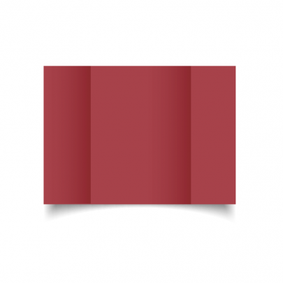 Ruby Red A5 Gate Fold Card Blank 01