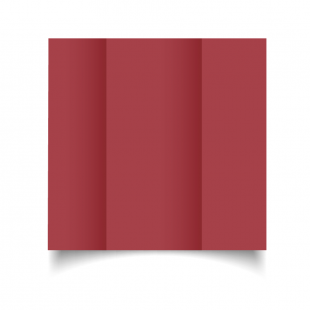 DL Gatefold Ruby Red Card Blanks