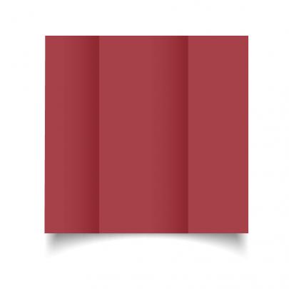 Ruby Red Dl Gate Fold Card Blank 01