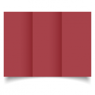 DL Trifold Ruby Red Card Blanks