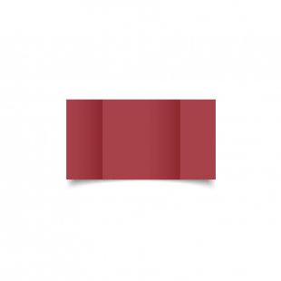 Small Square Gatefold Ruby Red Card Blanks