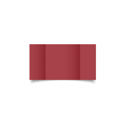 Ruby Red Small Square Gate Fold Card Blank 01