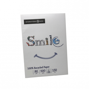 A3 Smile 100% Recycled Paper 80gsm | 500 Sheets