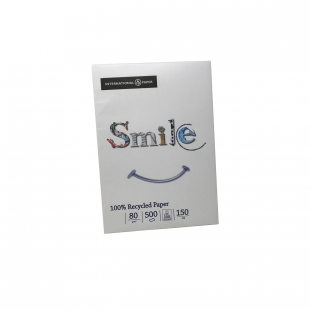 A4 Smile 100% Recycled Paper 80gsm | 500 Sheets