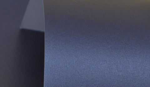 Royal Blue Double Sided Pearlised Card 300gsm