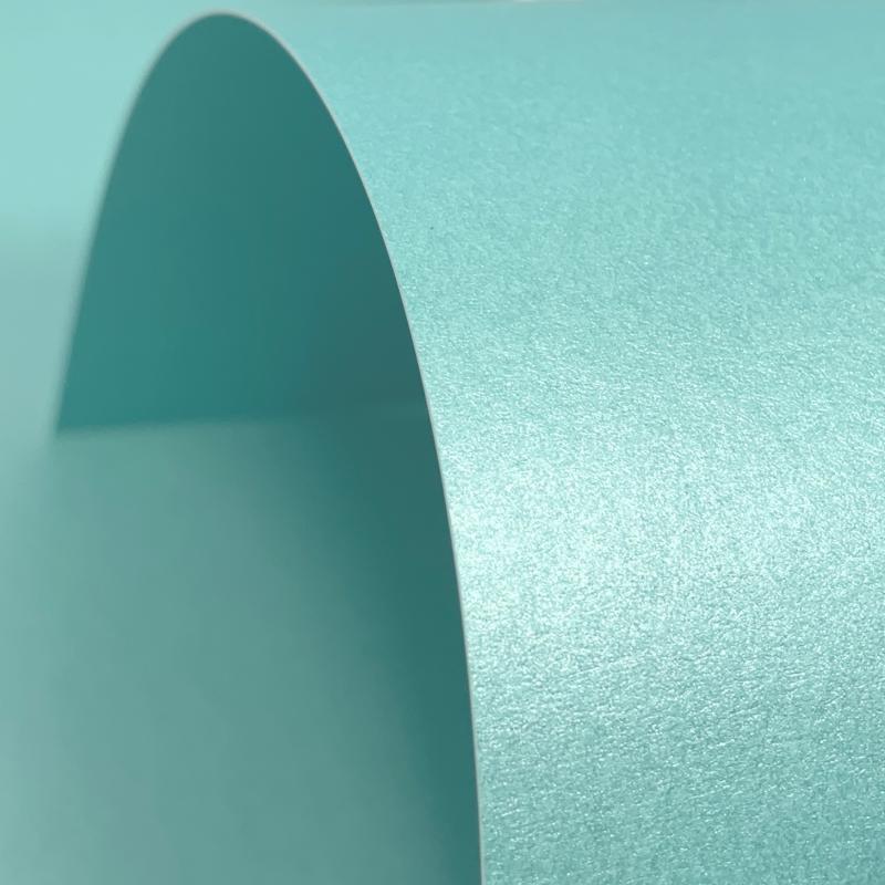 Sea Blue Lustre Print