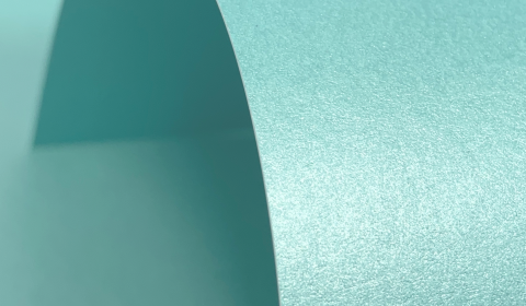 Sea Blue Pure Pearl Card Blanks Double Sided 300gsm