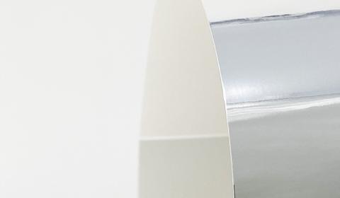 Silver Mirror Card 270gsm