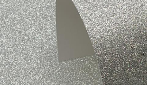 Silver Sparkle Mirror Card 270gsm