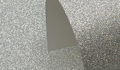 Silver Non-Shedding Glitter Card 285gsm