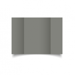 A5 Gatefold Slate Grey Card Blanks