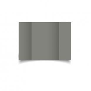 A6 Gatefold Slate Grey Card Blanks