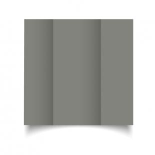DL Gatefold Slate Grey Card Blanks
