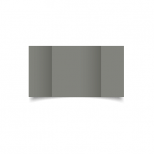 Large Square Gatefold Slate Grey Card Blanks