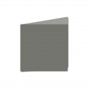 Small Square Antracite Sirio Colour Card Blanks