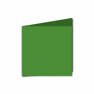 Small Square Apple Green Card Blanks
