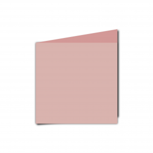 Small Square Baby Pink Card Blanks
