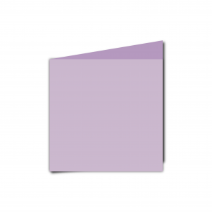 Small Square Lilac Card Blanks
