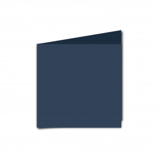 Small Square Navy Card Blanks