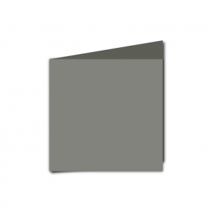 Small Square Slate Grey Card Blanks