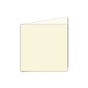 Small Square Card Blank Ivory 01