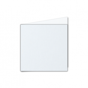 Small Square Ultra White Pearlised Card Blanks