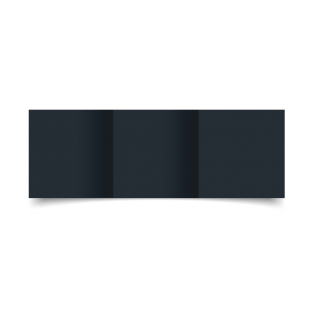 Cobalt Materica Card Blanks Double Sided 250gsm-Small Square-Trifold