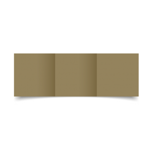 Kraft Materica Card Blanks Double Sided 250gsm-Small Square-Trifold