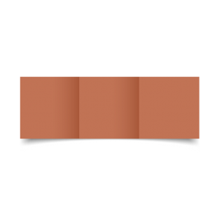 Terra Rossa Materica Card Blanks Double Sided 250gsm-Small Square-Trifold