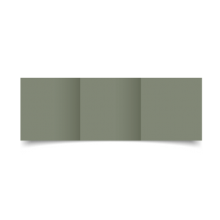 Verdigris Materica Card Blanks Double Sided 250gsm-Small Square-Trifold