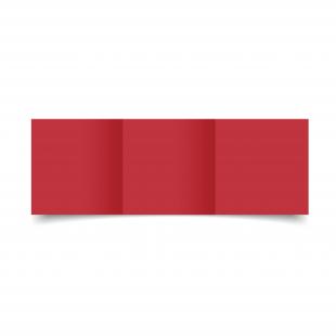 Small Square Trifold Lampone Sirio Colour Card Blanks