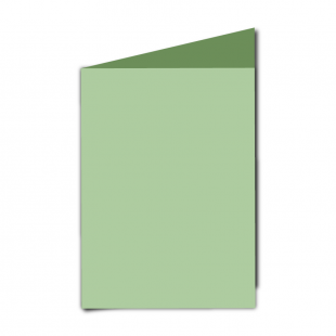 "5"" x 7"" Spring Green Card Blanks"