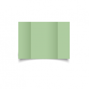 A6 Gatefold Spring Green Card Blanks