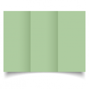 DL Trifold Spring Green Card Blanks