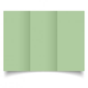 Spring Green Dl Tri Fold Card Blank 01