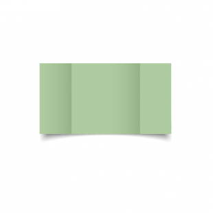 Large Square Gatefold Spring Green Card Blanks