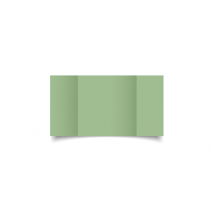 Small Square Gatefold Spring Green Card Blanks