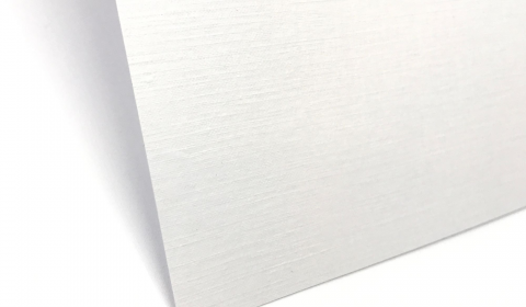 Super White Card Linen 350gsm | A6