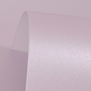 Powder Purple Cosmos Pearl Card Blanks Double Sided 300gsm