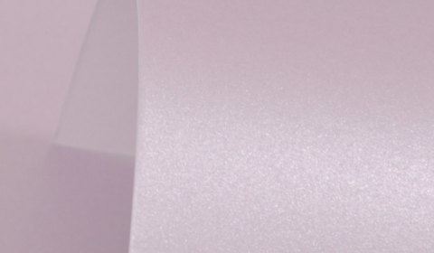 Powder Purple Pure Pearl Card Blanks Double Sided 300gsm